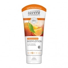 Lavera Orange Feeling Bodylotion mit Orange und Sanddorn