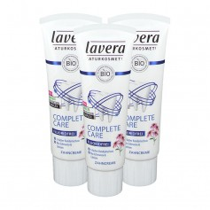 3 x Lavera basis sensitiv Zahncreme