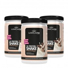 3 x Layenberger LowCarb 3K Protein-Shake Stracciatella