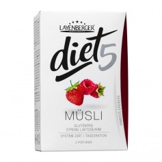 Layenberger diet5 Müsli, Himbeer-Erdbeer