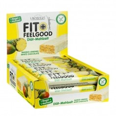 15 x Layenberger Fit+Feelgood Mahlzeitenersatz Riegel Mango Ananas