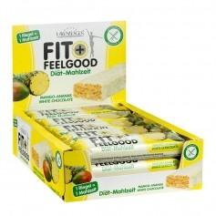 15 x Layenberger Fit+Feelgood Mahlzeitenersatz Riegel Mango Ananas