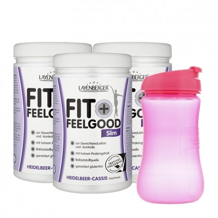 Fit+Feelgood Diät mit Lady-Shaker, Heidelbeere-Cassis