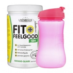 Layenberger Fit+Feelgood Schlank-Diät Banane-Quark mit Lady-Shaker