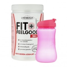 Layenberger Fit+Feelgood Schlank-Diät Rote Beeren-Joghurt mit Lady-Shaker
