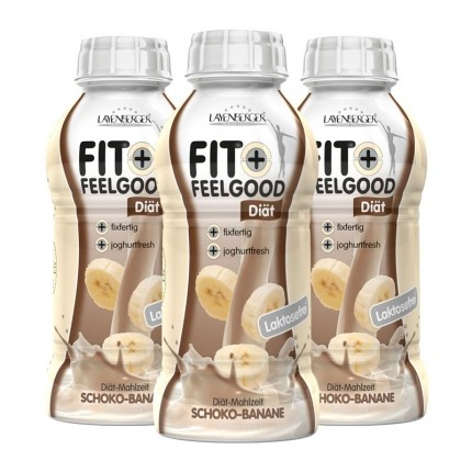 3 x Layenberger Fit+Feelgood Diät-Shake Schoko-Banane