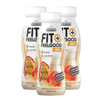 3 x Layenberger Fit+Feelgood Diät-Shake Pfirsich-Maracuja