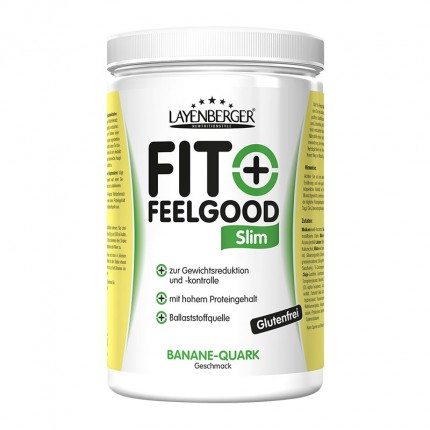 Layenberger Fit+Feelgood Slanke-Diæt Banan-Quark, Pulver