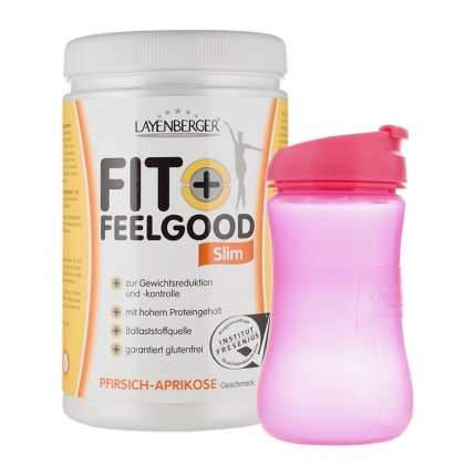 Layenberger Fit+Feelgood Slim mit Lady-Shaker, Pfirsich-Aprikose