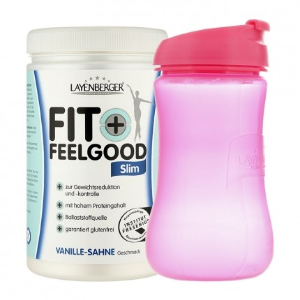 Layenberger Fit+Feelgood Schlank-Diät Vanille-Sahne mit Lady-Shaker