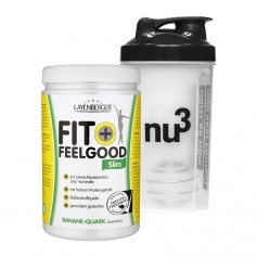Layenberger Fit+Feelgood Schlank-Diät Banane-Quark + nu3 Shaker