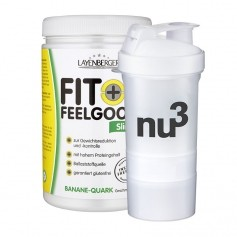Layenberger Fit+Feelgood Schlank-Diät Banane-Quark + nu3 SmartShake