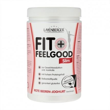 Fit+Feelgood Slim, Rote Beeren-Joghurt, Pulver (430 g)