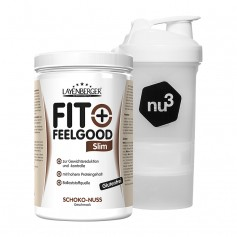 Layenberger Fit+Feelgood Schlank-Diät Schoko-Nuss + nu3 SmartShake