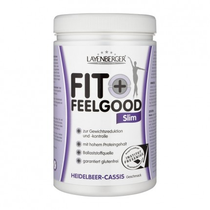 Layenberger Fit+Feelgood Schlank-Diät Heidelbeer-Cassis, Pulver