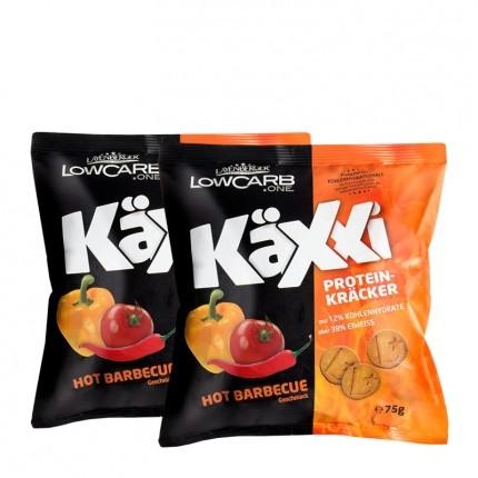 Layenberger LowCarb.one Käxxi Protein-Kräcker, Hot Barbecue (2 x 75 g)