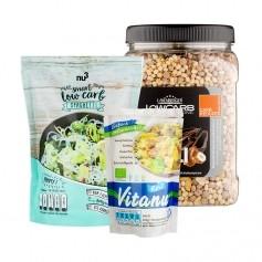 LowCarb Paket: Protein-Müsli + LowCarb Spaghetti + Shirataki Reis