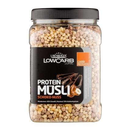 Layenberger LowCarb.one Protein Müsli, Schoko-Nuss (530 g)