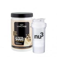 Layenberger LowCarb.one 3K Protein-Shake Schoko-Kaffee + nu3 SmartShake