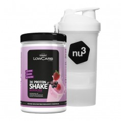 Layenberger LowCarb.one 3K Protein-Shake Beeren Mix + nu3 SmartShake