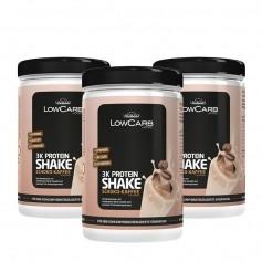 3 x Layenberger LowCarb 3K Protein-Shake Schoko-Kaffee