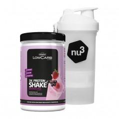 Layenberger LowCarb.one 3K Proteinshake bær + nu3 SmartShake