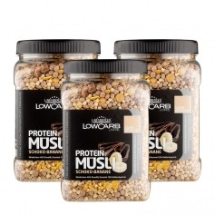 3 x Layenberger LowCarb Protein Müsli Schoko-Banane
