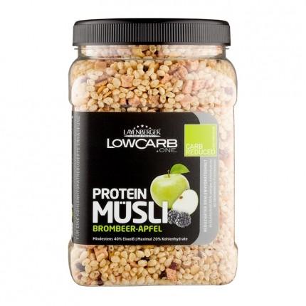 Layenberger, LowCarb.one muesli protéiné, mûre-pomme