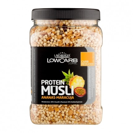 Layenberger LowCarb.one Protein Müsli Ananas-Maracuja