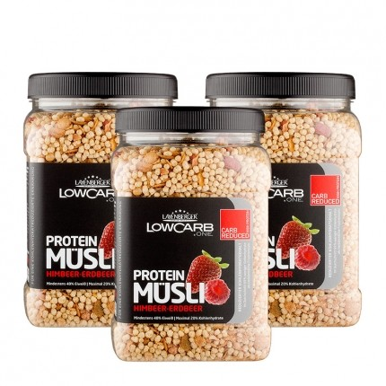 Layenberger LowCarb.one Protein Müsli, Himbeere...