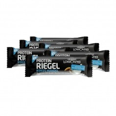 6 x Layenberger LowCarb.one Protein-Riegel Kokos Mandel