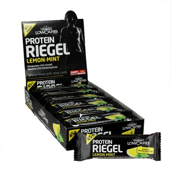 layenberger low carb protein riegel lemon mint. Black Bedroom Furniture Sets. Home Design Ideas