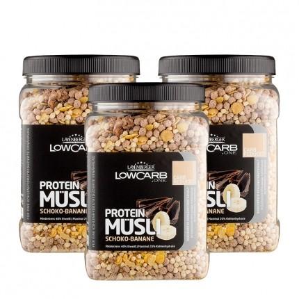 Layenberger LowCarb Protein Müsli Schoko-Banane