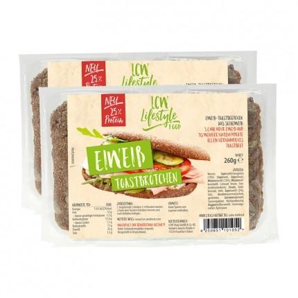 LCW Eiweiß Toastbrötchen
