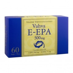Leader Vahva Active E-EPA 500 mg 60 kaps