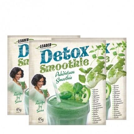 3 x Leader Natural Foods Detox -puhdistava smoothie