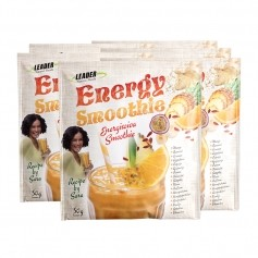 6 x Leader Natural Foods Energy Smoothie, pulver