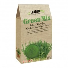 Leader Natural Foods Green Mix -jauhe, luomu