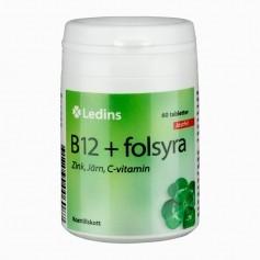 Ledins B12 + Folsyra, 60 t
