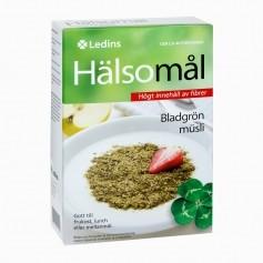Ledins Hälsomål-bladgrön, kalorisnål musli