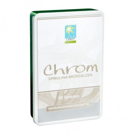 Life Light Chrom Spirulina Microalgen (36 g)