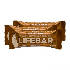 3 x Lifefood lifebar Brazil, Riegel