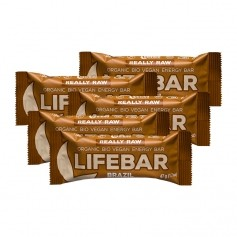 5 x Lifefood lifebar Brazil, Riegel