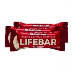 3 x Lifefood lifebar Cherry, Riegel