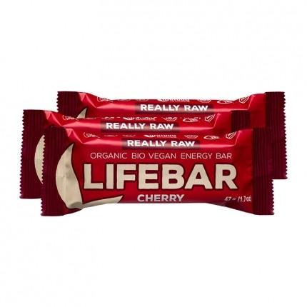 3 x Lifefood lifebar Cherry, Riegel