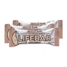 3 x Lifefood lifebar Coconut, Riegel