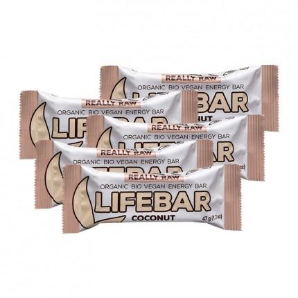 5 x Lifefood lifebar Coconut, Riegel