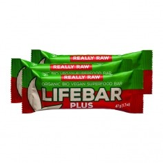 3 x Lifefood lifebar plus - Brazil + Guarana