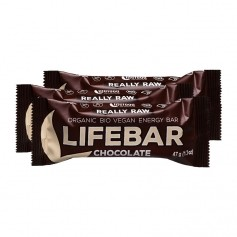 3 x Lifefood lifebar Chocolate, Riegel