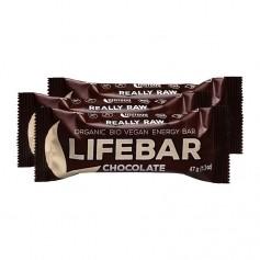 3 x Lifefood lifebar Chocolate, Riegel